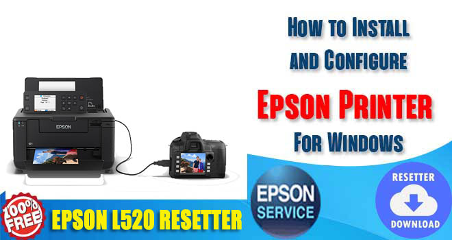 Epson L520 Adjustment Program