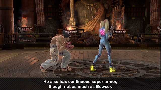Kazuya super armor Super Smash Bros. Ultimate Tough Guy Bowser