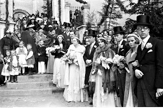 Ślub B.Tyszkiewicza z E.Radziwiłł