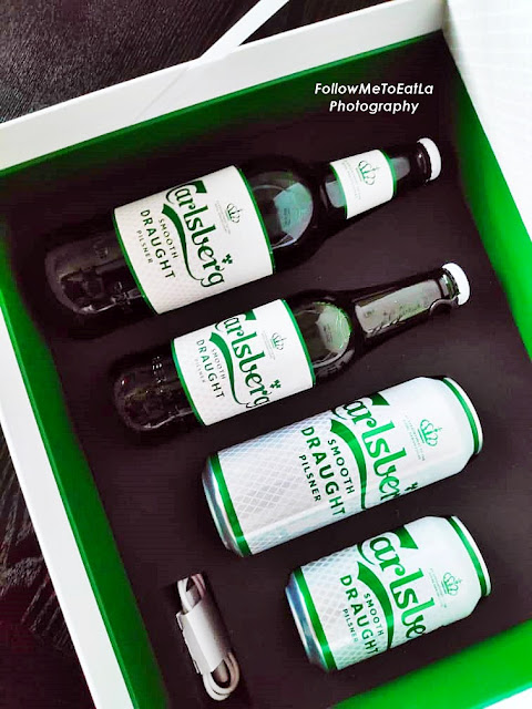 CARLSBERG SMOOTH DRAUGHT REFRESHES 'NEW LOOK' FOR AN EVEN SMOOTHER SENSATION!
