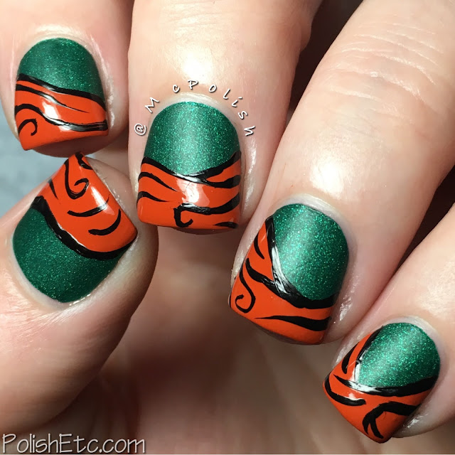 Inspired by Merida from Brave - #31DC2016Weekly - McPolish