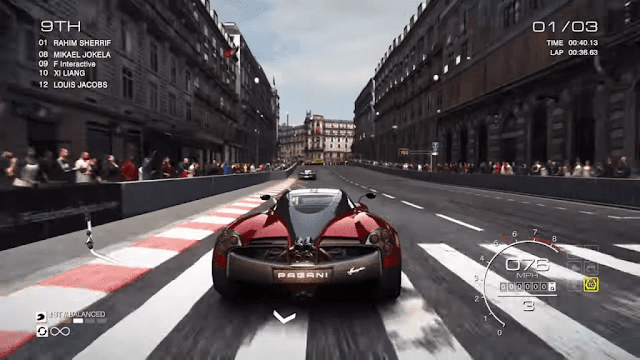 GRID Autosport is available to Nintendo Switch and Nintendo Switch Lite