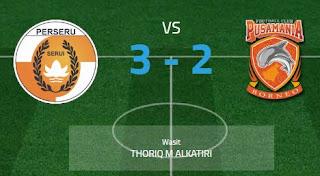 Perseru Serui Tumbangkan Borneo FC 3 - 2
