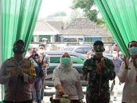 Dandim Bojonegoro Hadiri Peresmian Pasar Daerah Maju Raya Unit Mejuwet