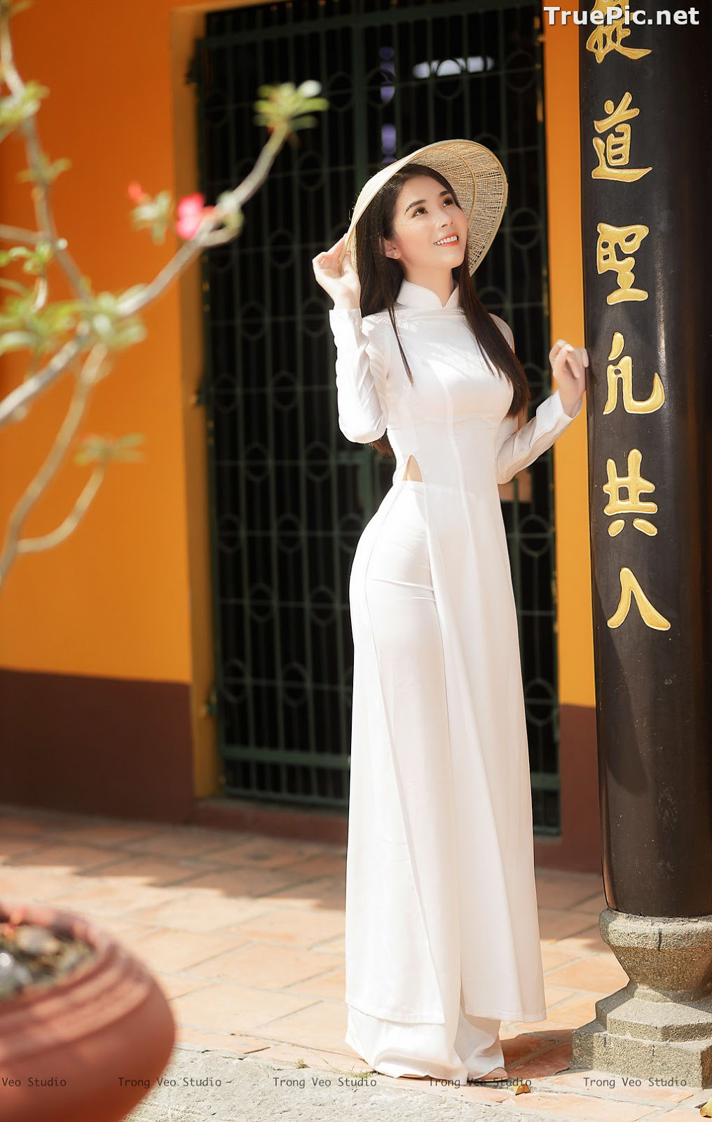 Image The Beauty of Vietnamese Girls with Traditional Dress (Ao Dai) #2 - TruePic.net - Picture-9