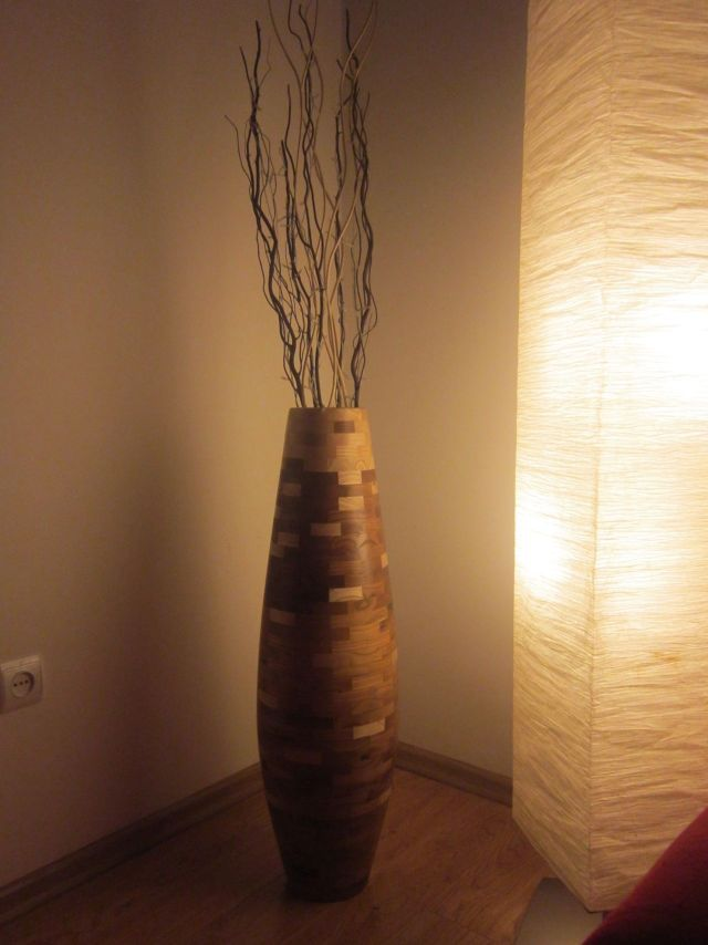 Woodworks Made With Love Home Decor And Gifts By Mapostol Tall Vase