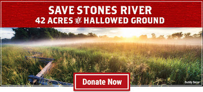 Today's Lesson in Never Giving Up Hope: 42 Acres at Stones River