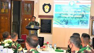 Mayjen TNI Nugroho Budi Wiryanto Pimpin Sertijab Beberapa Perwira Di Lingkungan Kodam III/Siliwangi