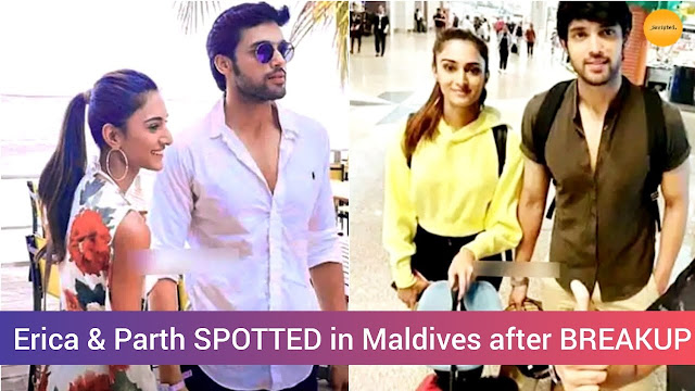 WOW! Parth Samthaan and Erica Fernandes day 2 of love in Maldives :Pics inside