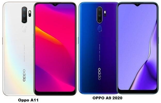 Oppo A11 Vs Oppo A9 2020 Specs Comparison