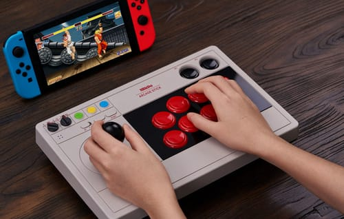 8BitDo introduces a stylish and stylish controller for the Switch