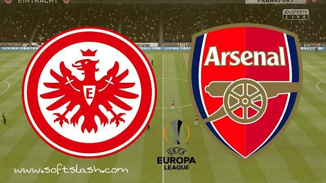 شاهد مباراة Arsenal vs Eintracht frankfurt live بمختلف الجودات
