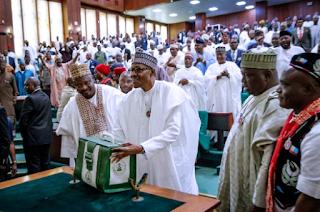 NASS, 2020 budget, Buhari