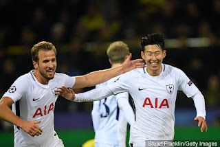 Kane launched an attack, Son Heung-Min Made way