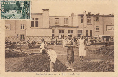 Westende Bains, Belgium - Le Tom Thumb Golf - Date Unknown