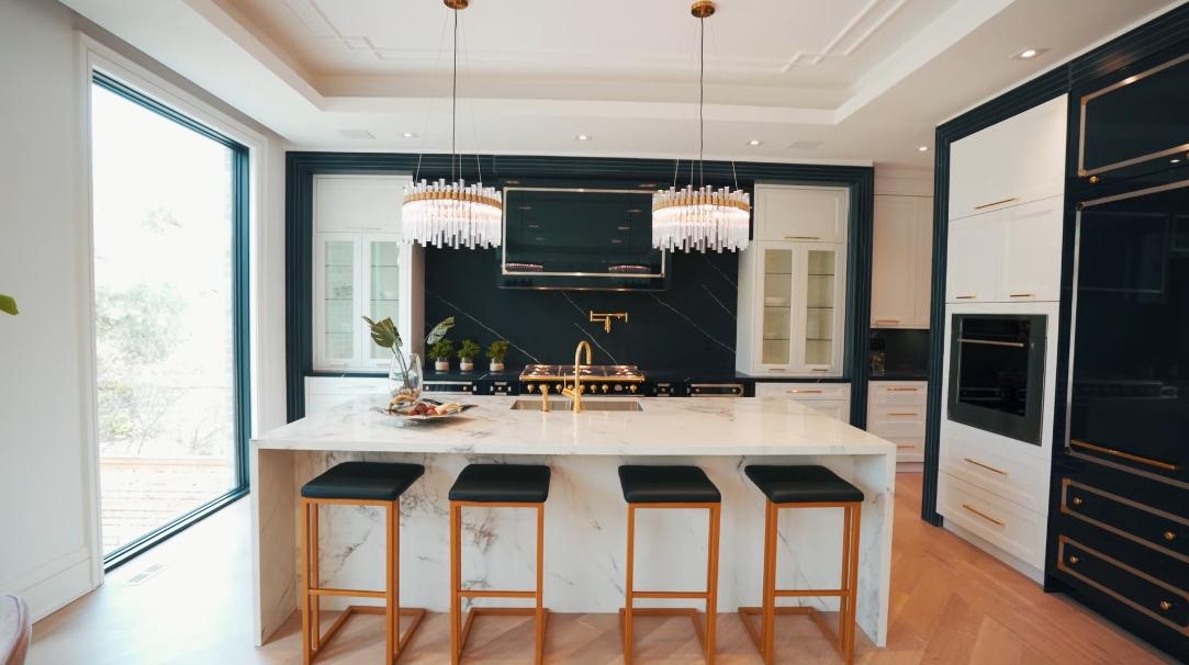 31 Interior Design Photos vs. Luxury Kitchen & Family Room Makeover How To Tour