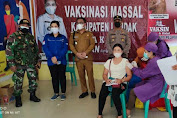 600 Warga Menjalin disuntik Vaksin Tahap II Sinovac Termin ke 6