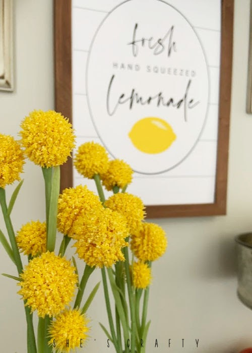 Summer Home Decor - Lemonade Printable