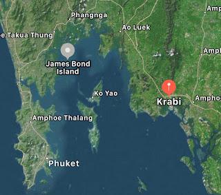 Krabi to James Bond Island Tour 101