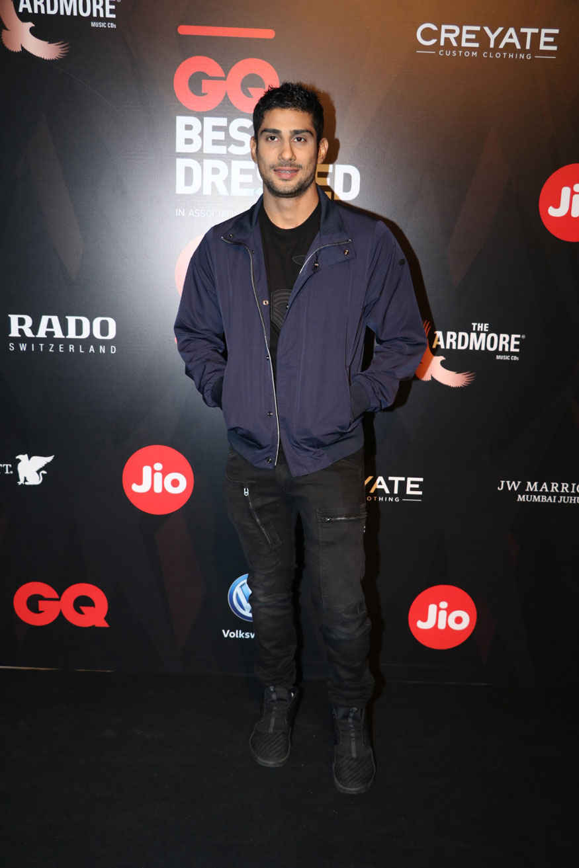 Tiger Shroff and Prateik Babbar Attends The GQ Best Dressed Awards Event
