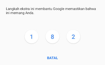 lupa akun google dan password