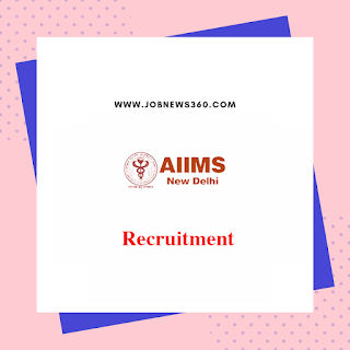 AIIMS, New Delhi Walk-IN 19th Nov 2019 for Data Entry Operator