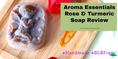 Aroma Essentials Rose & Turmeric Soap Review