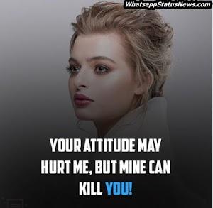 Best Attitude Status For Girls | Share on Whatsapp