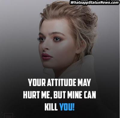 Best Attitude Status For Girls