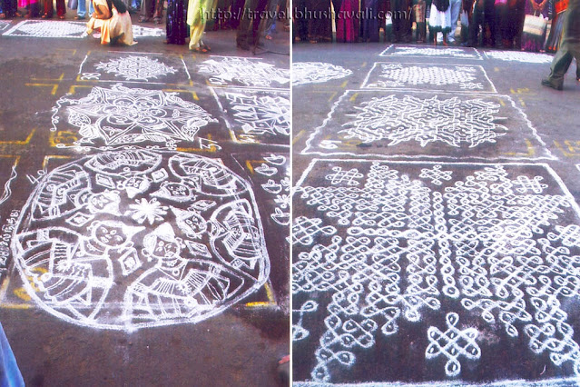 Types of Suzhi Kolam / Rangoli in India