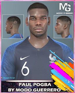 PES 2020 Faces Paul Pogba by Modo