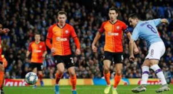 Manchester City 1 - 1 Shakhtar Donetsk champions league highlight