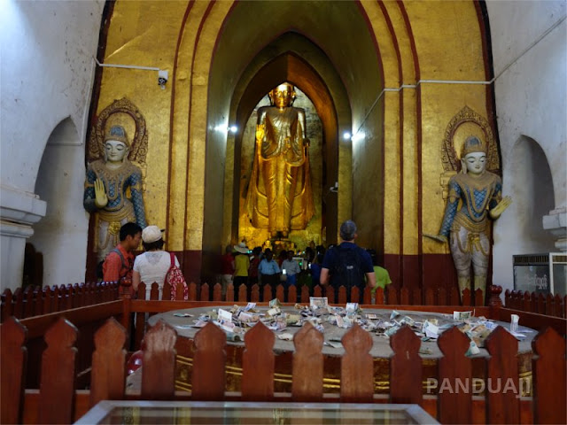 Inside Ananda Phaya Pagoda