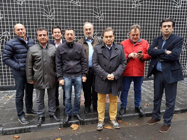 Στις Βρυξέλλες για το Σύμφωνο των Δημάρχων ο Δήμαρχος Άργους Μυκηνών & Πρόεδρος της ΠΕΔ Πελοποννήσου κ. Δημήτρης Καμπόσος