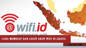 Cara Bobol Wifi ID atau Cara Membobol Wifi ID