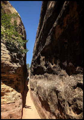 One of The Slot Canyons on the Chesler Park Trail