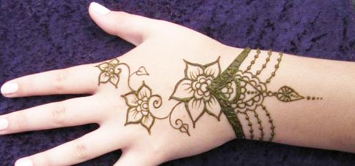 Contoh Henna Art Makedes Com