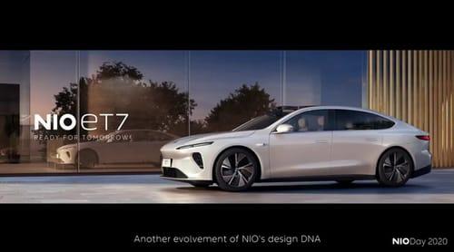Nio launches the new ET7 sedan