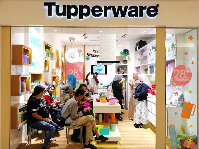 Perayaan ulang tahun ke-28 Tupperware di Indonesia