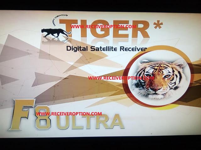 TIGER F8 ULTRA HD RECEIVER CCCAM OPTION