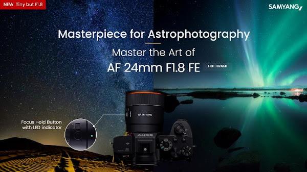 Samyang revela objetiva otimizada para astrofotografia