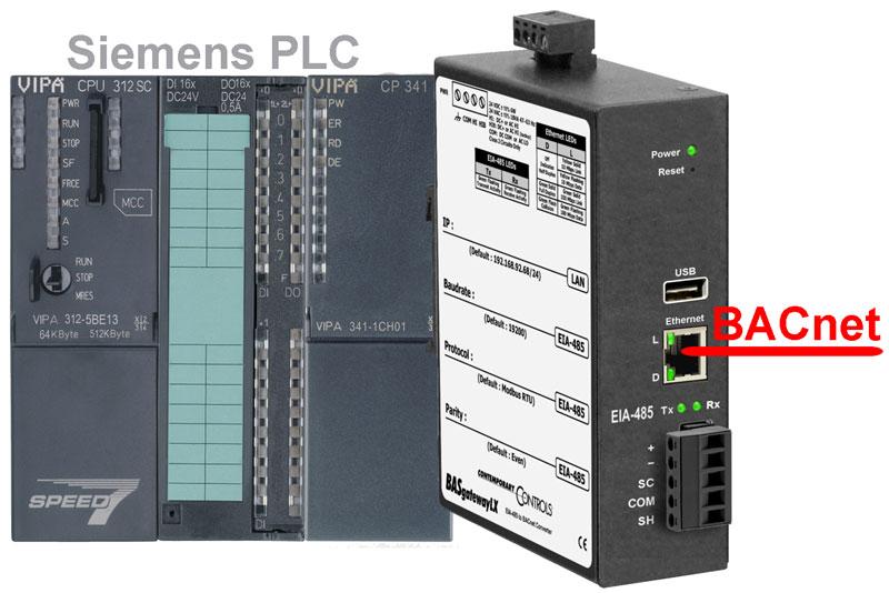 Siemens PLC BACnet