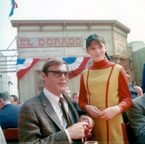 Adam West and Angela Cartwright during the 1960s randommusings.filminspector.com