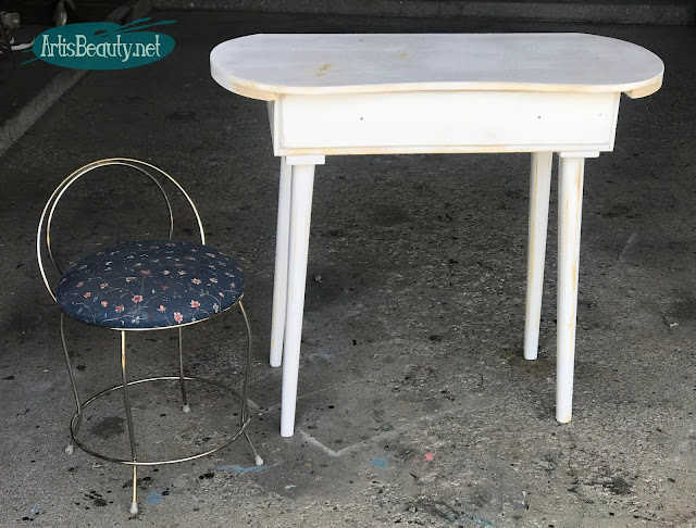 Wild Heart Gypsy Soul Vintage Dressing Table Makeover