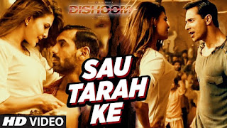 SAU TARAH KE LYRICS