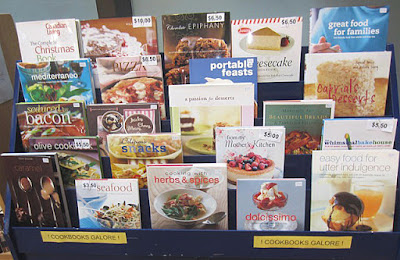 cookbooks at Friendshop