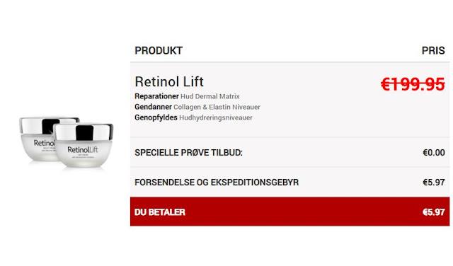 Retinol lift, retinol lift denmark, retinol lift dk, dk, denmark,