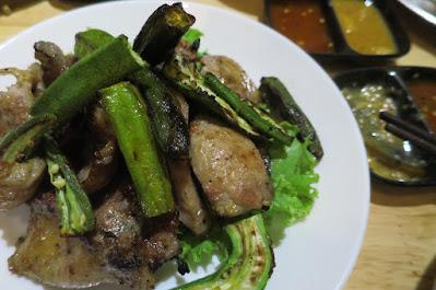 123 ZÔ Vietnamese BBQ Skewers and Hotpot, pork udder