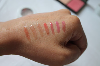 Clinique Full Potential Lips Plump and Shine Swatches