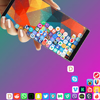 Rolling Icon - 3D Live Wallpaper & Launcher 2019 Apk free for Android